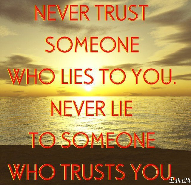 Quotes About Trust Issues And Lies In A Relationshiop And